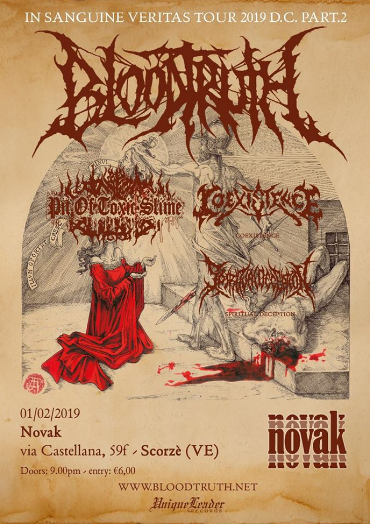 Brutal night in Venice: Bloodtruth + Guest