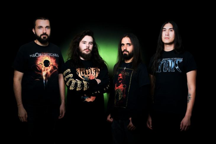 Italian technical death metal band COEXISTENCE sign to Transcending Obscurity