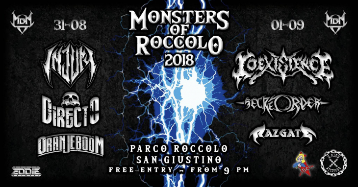 Monsters Of Roccolo Metal Fest 2018