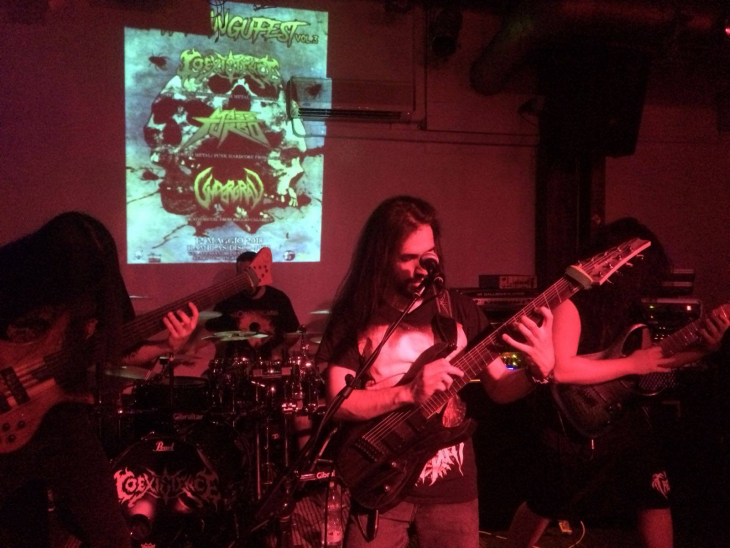 New live video from the Contact with the Entity Sicily Mini-tour